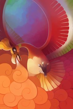 Ho-Oh using Sacred fuego