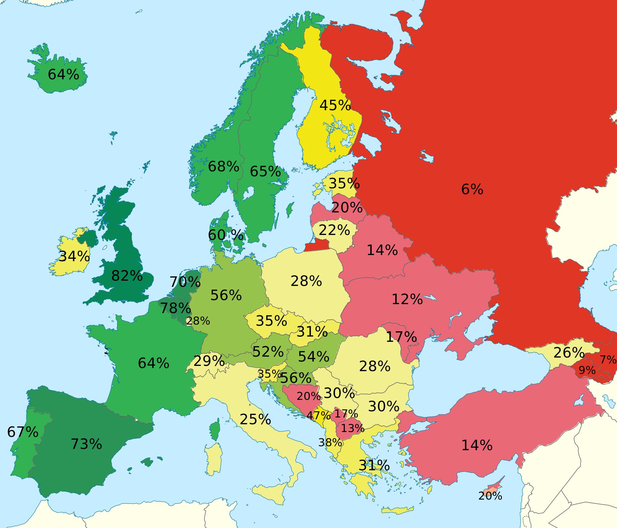 Homophobia In Europe