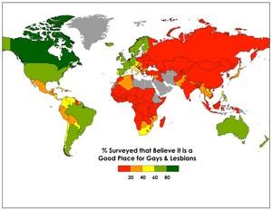 Homophobia World Map 2017