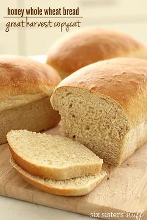 Honey Whole Wheat パン