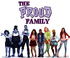 Disney's The Proud Family gang all growned up