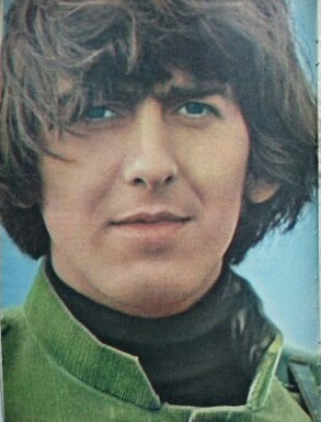 "George Harrison filming ""Help!"""