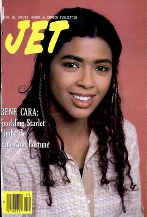 Irene Cara On The Cover Of Jet