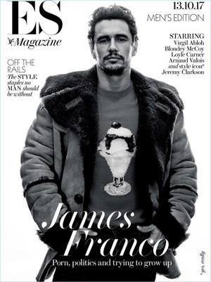 James Franco - ES Magazine Cover - 2017
