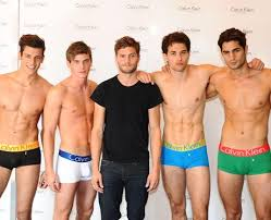 Beautiful Boys پیپر وال called Jamie Dornan & Calvin Klein Male Models