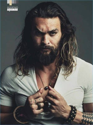 Jason Momoa - DT Spain Photoshoot - 2017