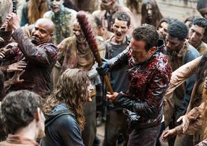 Jeffrey Dean morgan as Negan in 8x05 'The Big Scary U'