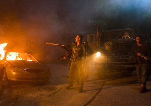 Jeffrey Dean morgan as Negan in 8x08 'How It's Gotta Be'