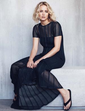 Jennifer Lawrence Elle Malaysia Photoshoot January 2016