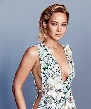 Jennifer Lawrence Glamour Photoshoot January 2016