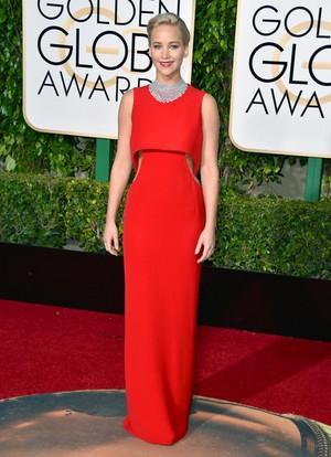 Jennifer Lawrence Golden Globes 2016