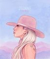 Joanne - helengreeen - lady-gaga fan art
