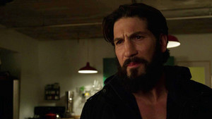 Jon Bernthal as Frank istana, castle in The Punisher