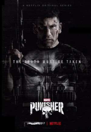 Jon Bernthal as Frank 城 on a poster for The Punisher