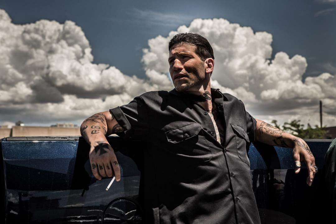 Jon Bernthal as Shotgun in Shot Caller