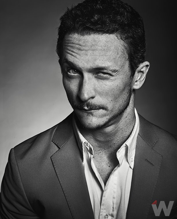 Jonathan Tucker - The wickeln, wickeln sie Photoshoot - 2016