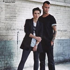 Joseph Gilgun and Vicky McClure