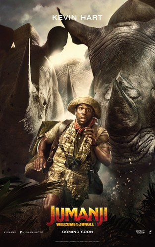 Jumanji fondo de pantalla titled Jumanji: Welcome to the Jungle (2017) Poster - Kevin Hart as Moose Finbar