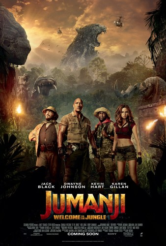 Jumanji fondo de pantalla titled Jumanji: Welcome to the Jungle (2017) Poster
