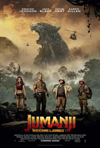 Jumanji fondo de pantalla called Jumanji: Welcome to the Jungle (2017) Poster
