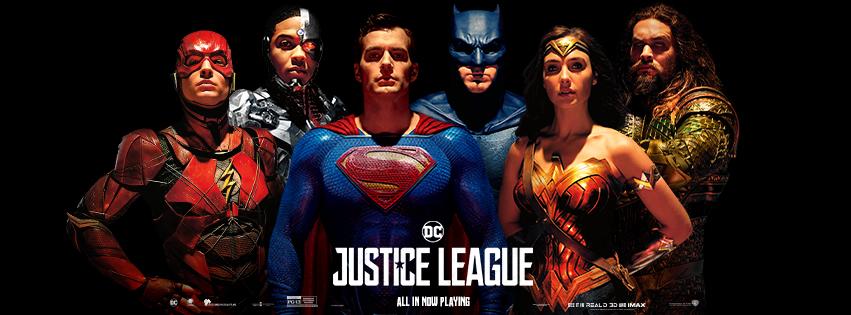 Justice League (2017) Banner