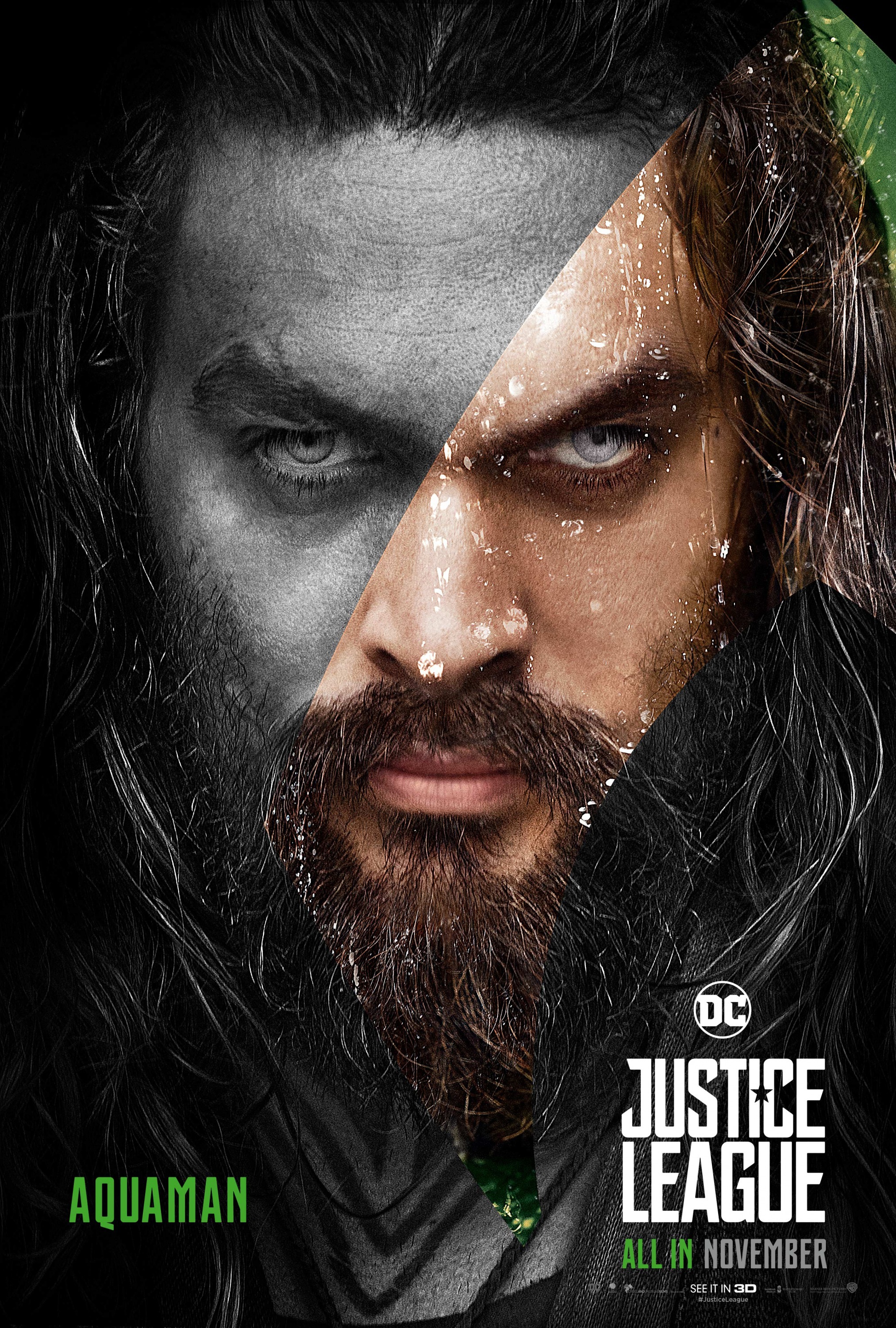 Justice League (2017) Poster - Aquaman