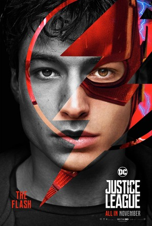 Justice League (2017) Poster - The Flash