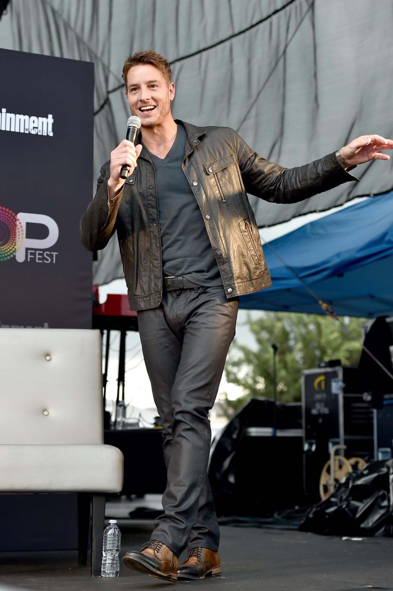 Justin Hartley at EW PopFest 2016