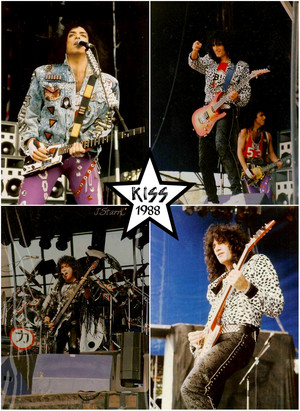 吻乐队(Kiss) ~Tilburg, Netherlands...September 4, 1988 (Monsters of Rock)