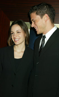Kelly Feeny and Wentworth Miller