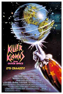 Killer Klowns from Outer Space (poster)