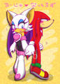 Knuckles X Rouge  - sonic-the-hedgehog photo