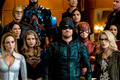 """Legends of Tomorrow 3x08 - """"Crisis on Earth X, Part 4"""" promotional stills - oliver-and-felicity photo"""