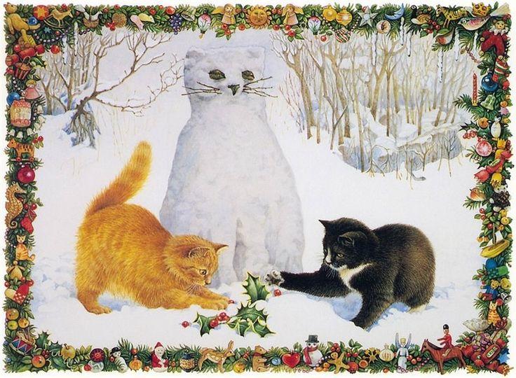 Let's Build A Snow Cat Sharon 🎄