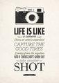 ~Life is Like a Camera~             - random photo