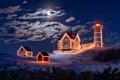 Lighthouse Christmas - christmas photo