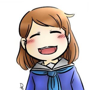 Lil Pup!Frisk Smiling Cheerfully