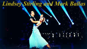 Lindsey Stirling and Mark Ballas wolpeyper