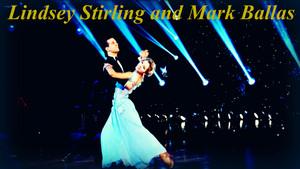 Lindsey Stirling and Mark Ballas वॉलपेपर