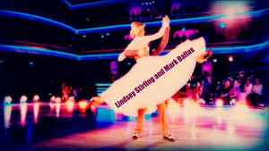Lindsey Stirling and Mark Ballas wallpaper