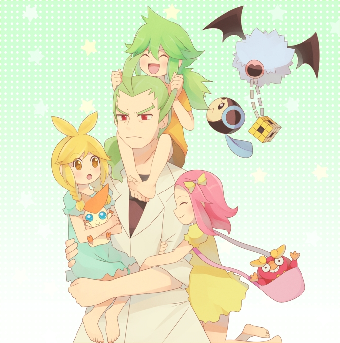 Little N and his Family