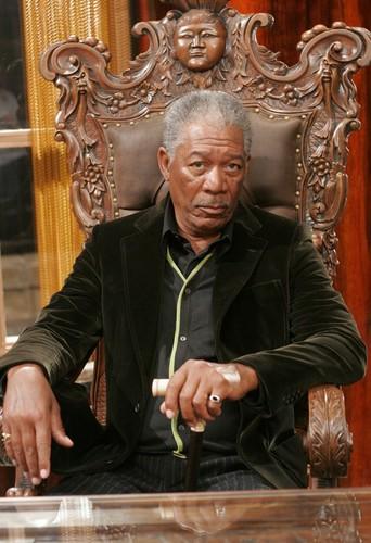 morgan Freeman karatasi la kupamba ukuta called Lucky Number Slevin
