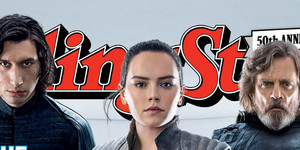 Luke,Rey and Kylo Rolling Stone cover