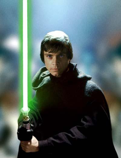 Image result for luke skywalker return of the jedi