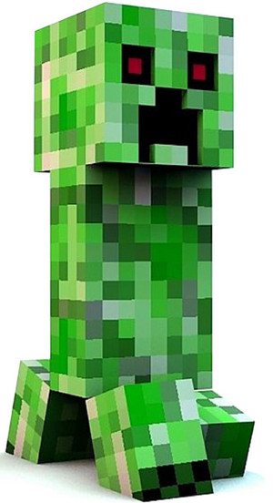 minecraft HUNGRY CREEPER