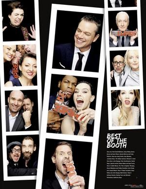 Magazine scans: Empire (June 2016)