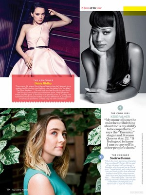 Magazine scans: People (May 2, 2016)