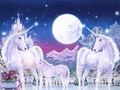 Magical Unicorns - fantasy wallpaper