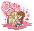 Mario X Peach!