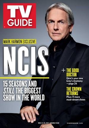 Mark Harmon cover of TV Guide Magazine (2017)